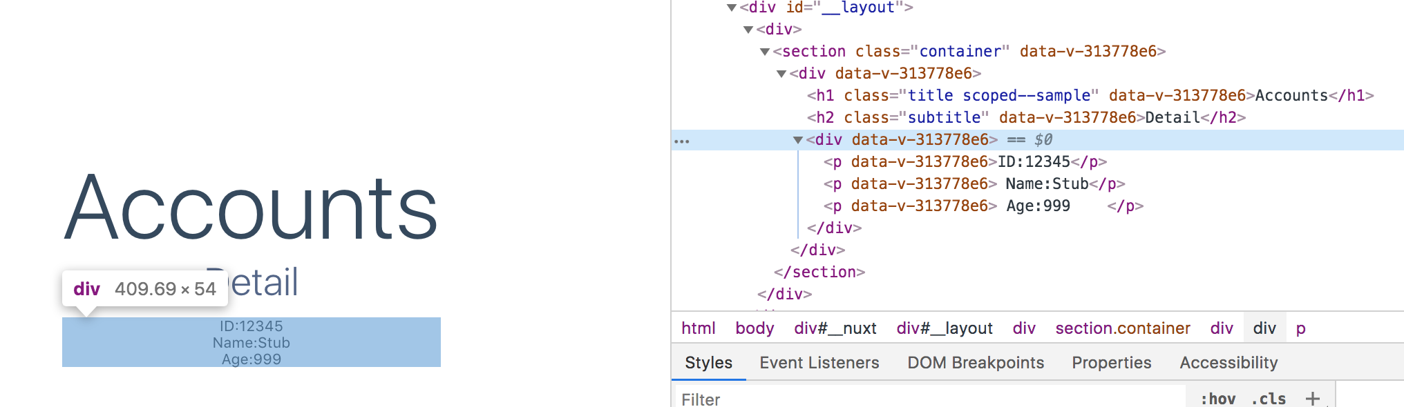 Nuxt Event Listener